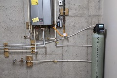 Carbon Filter Install in Asheville Solves Chlorine Issue