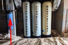 Neutralizer, Iron filter, Softener Installed in Mills River