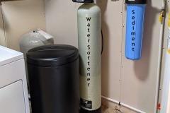 Alexander Customer gets Softener and Sediment Filter
