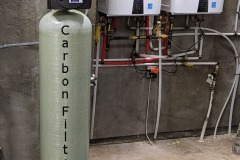 Asheville Customer Corrects City Water with Carbon Filter