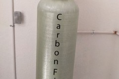 Asheville Customer installs Carbon Filter To Remove Chlorine