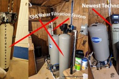 Comparing The Old Filtration Tanks in Weaverville