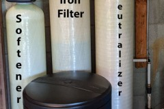 Customer Upgraded Neutralizer, Iron filter, and Softener