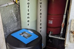 Customer in Asheville Upgrades Clack Valve adds New Softener