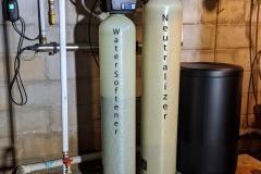 Fairview Customer adds Softener to Remove Hard Water Issue