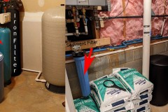 Fletcher Family adds New Softener with Existing Iron Filter