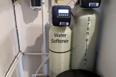 Iron Filter and Softener Stops Rusty and Water Hardness