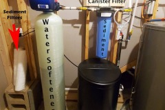 Leicester Customer Invested in Sediment Filter and Softener