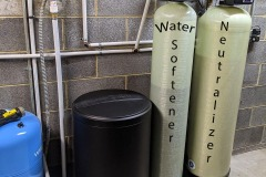 Neutralizer and Water Softener Corrects the Issue