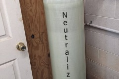 Neutralizer install in Fletcher, NC Corrects pH Issue
