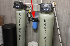 New Home gets Neutralizer, Softener and Sediment Filter
