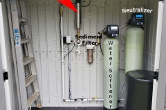 New Neutralizer and Water Softener Install in Mills River