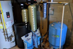 New Softener and Neutralizer Install in Lake Toxaway Home