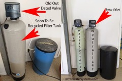 New Water Softener and Neutralizer Installed in Clyde, NC