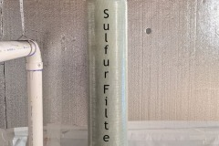 Sulfur Filter install in Fairview Solves Smelly Issue