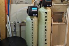 Updating Old Neutralizer Water Softener in Fletcher