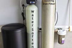 Weaverville Customer Adds Water Softener To Fix Hardness