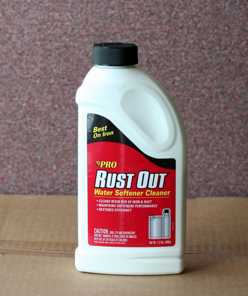 Rust Out Water Softener Cleaner