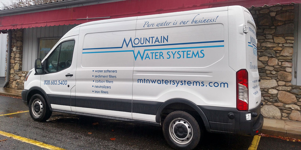 Softener Service Truck