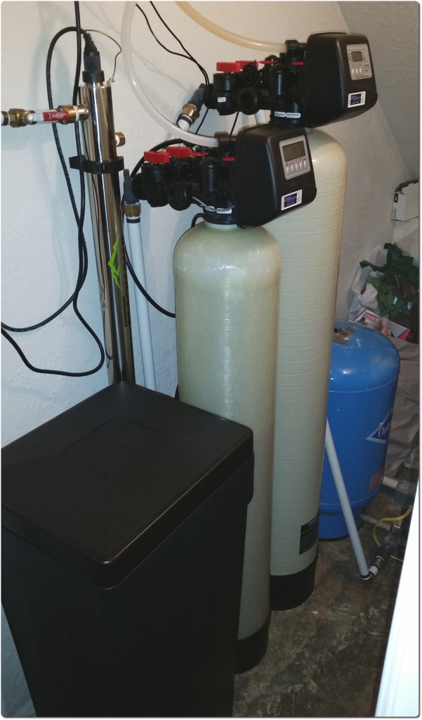 UV light for bacteria, Softener and Iron Filter in Leicester