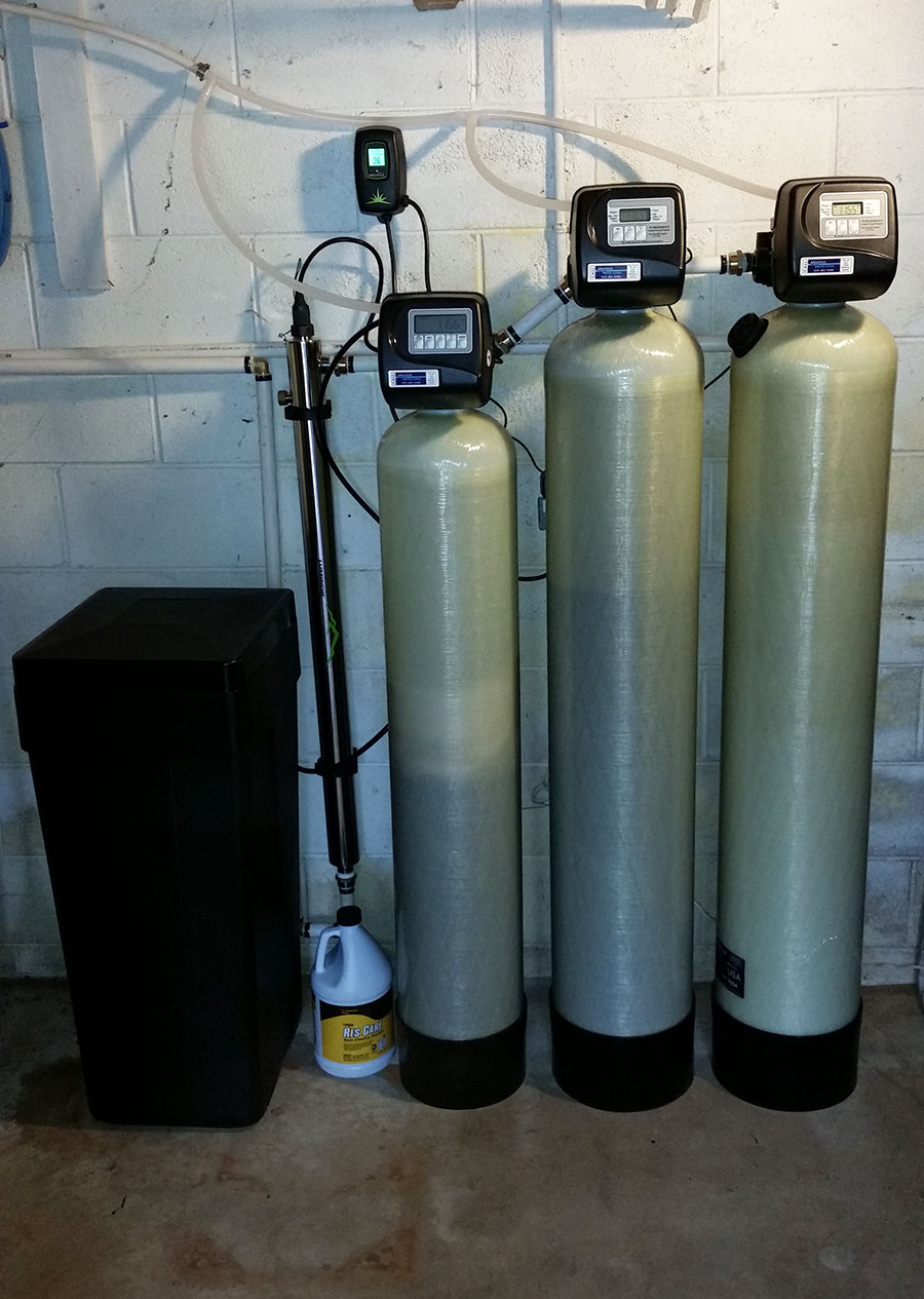 Asheville hard water problems done.