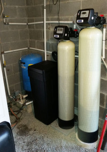 Mills River Family Softener install