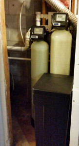 New Softener & Iron Filter System
