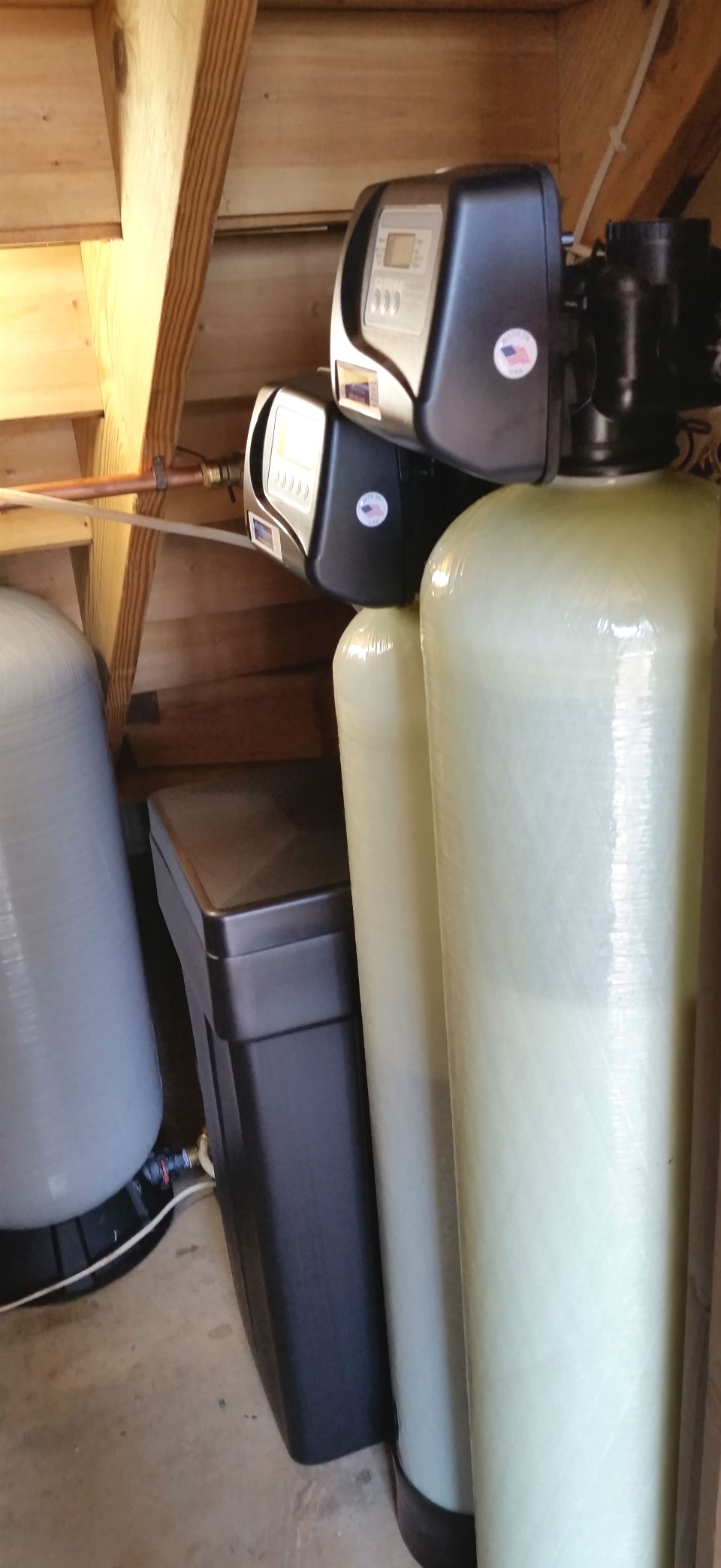Fletcher Water Softener Install