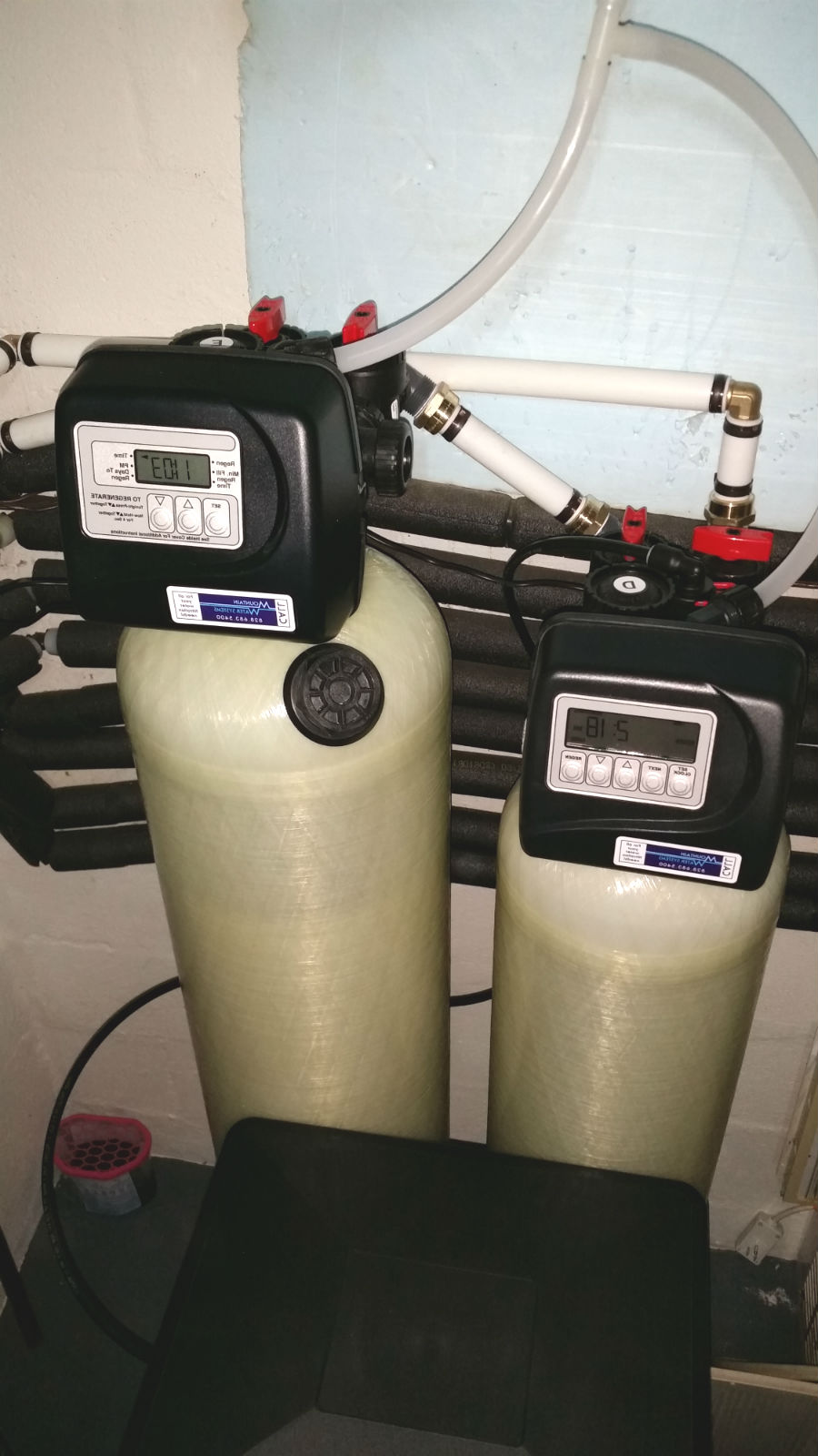 Softener and Neutralizer Install