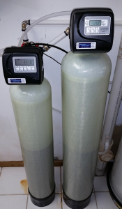 Water Softener and Iron Filter install