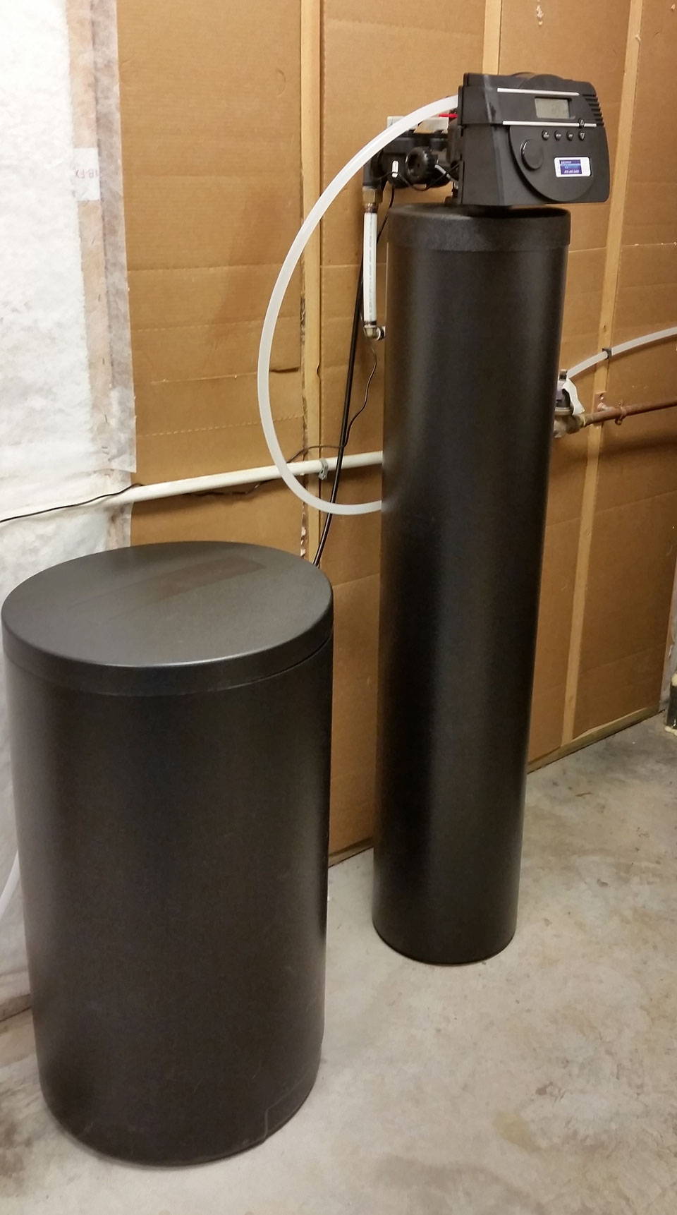 Platinum Series Water Softener Install in Asheville