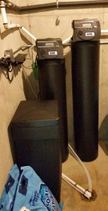 Water Softener Platinum Series Installed In Asheville