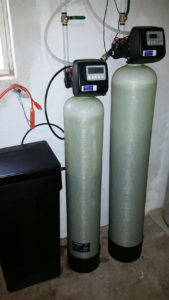 Asheville Family Gets Water Softener and Iron Filter