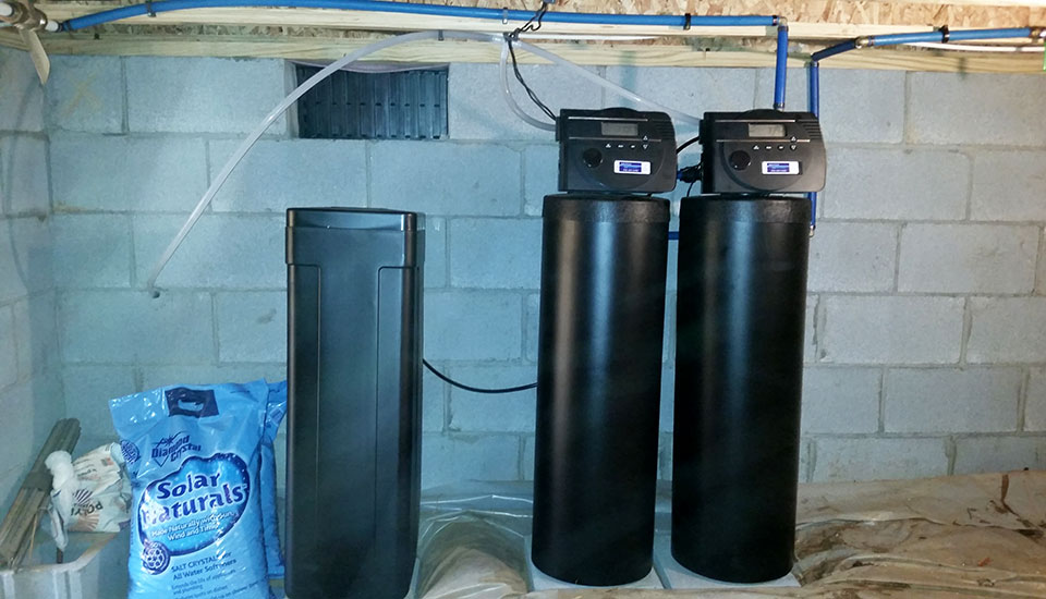 Custom Water Softener Carbon Filter System For City Water