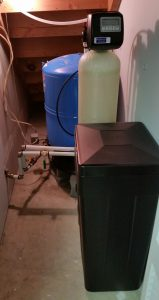 Water Softener Installed in Spruce Pine