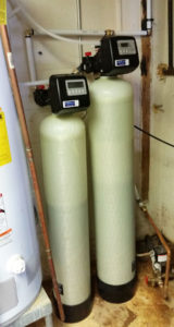 Water Filtration business has been super busy in the few weeks, and had very little time to blog about our water softener installs. But I am back now to talk about water softeners and hard water. Family in Swannanoa was having some bad times with the quality of their well water going into the house. They dropped off a sample of their water for our FREE test. They needed a iron filter and a softener for the hardness. After the install of the filtration system they were happy with their water now. We all had a glass of water to test it, and they love it.
