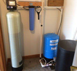 Family In Polk County NC Gets Water Softener