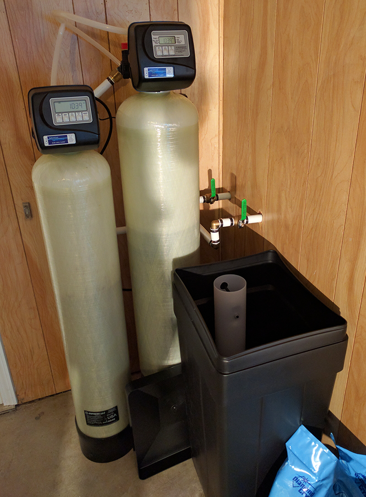 Rutherford County Customer Get Softener and Iron Filter