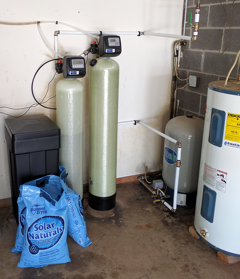 Water Softener and Neutralizer Install In Leicester