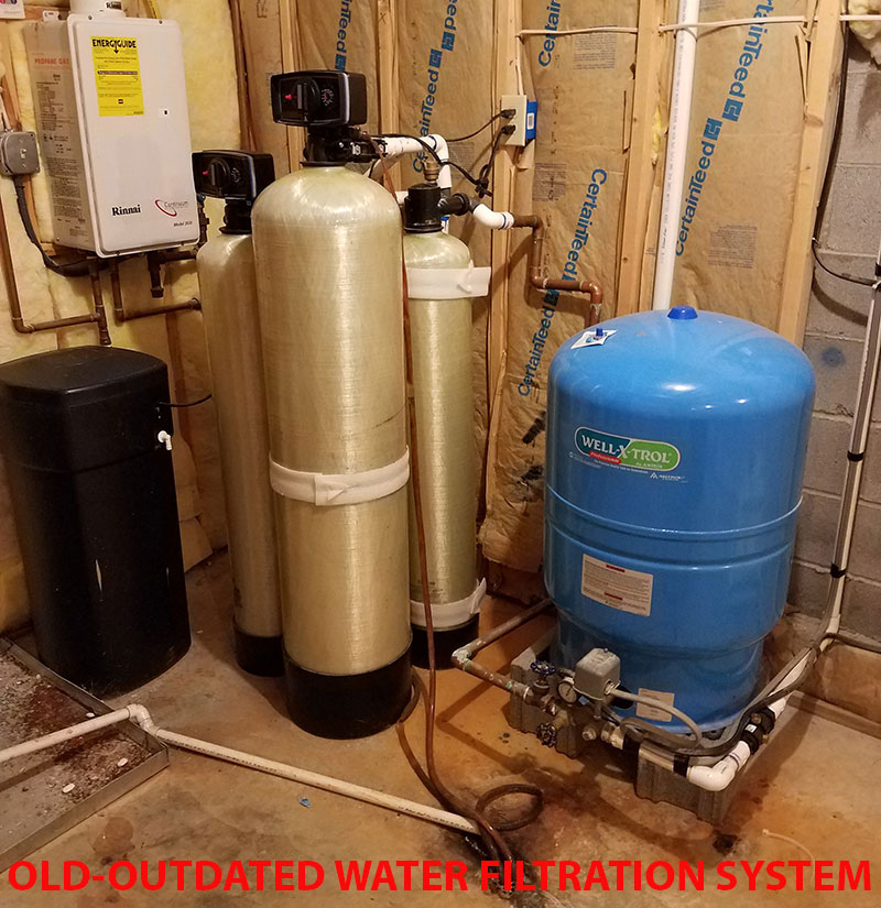 Old Water Softener Systems