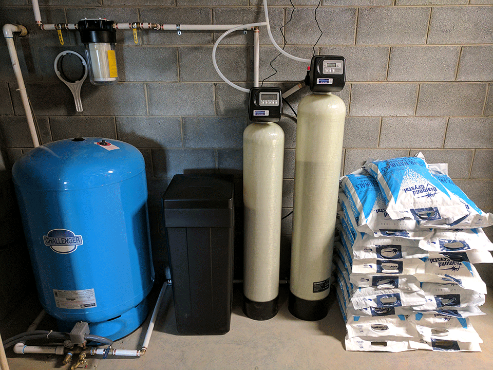 Asheville Family Get Water Filtration System For New Home