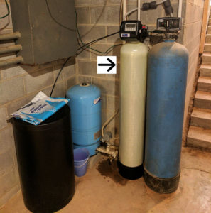 Water Softener Install For Family in Swannanoa