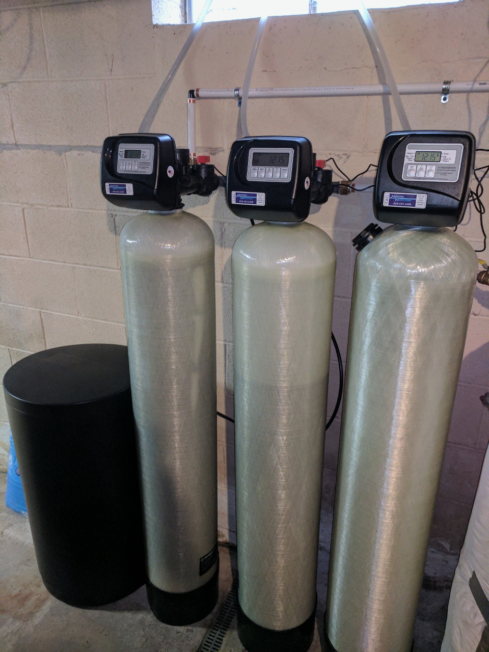 Weaverville Family Gets The Whole Water Filtration System