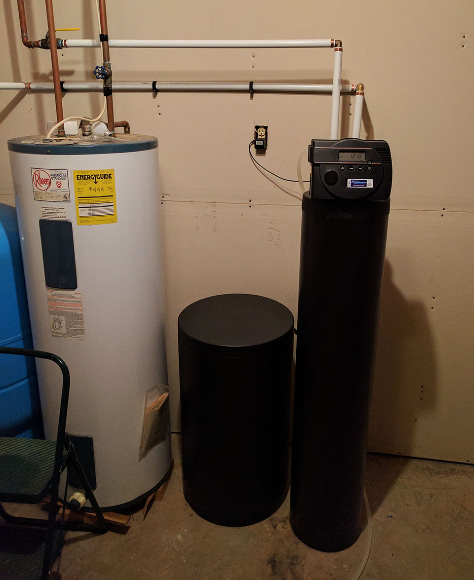 Weaverville Hard Water Issues Removed With Our Softener