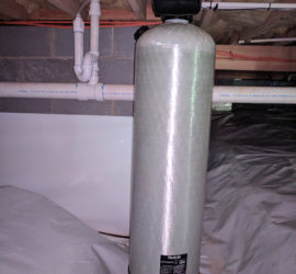 Carbon Filter Install For Asheville City Water Issues