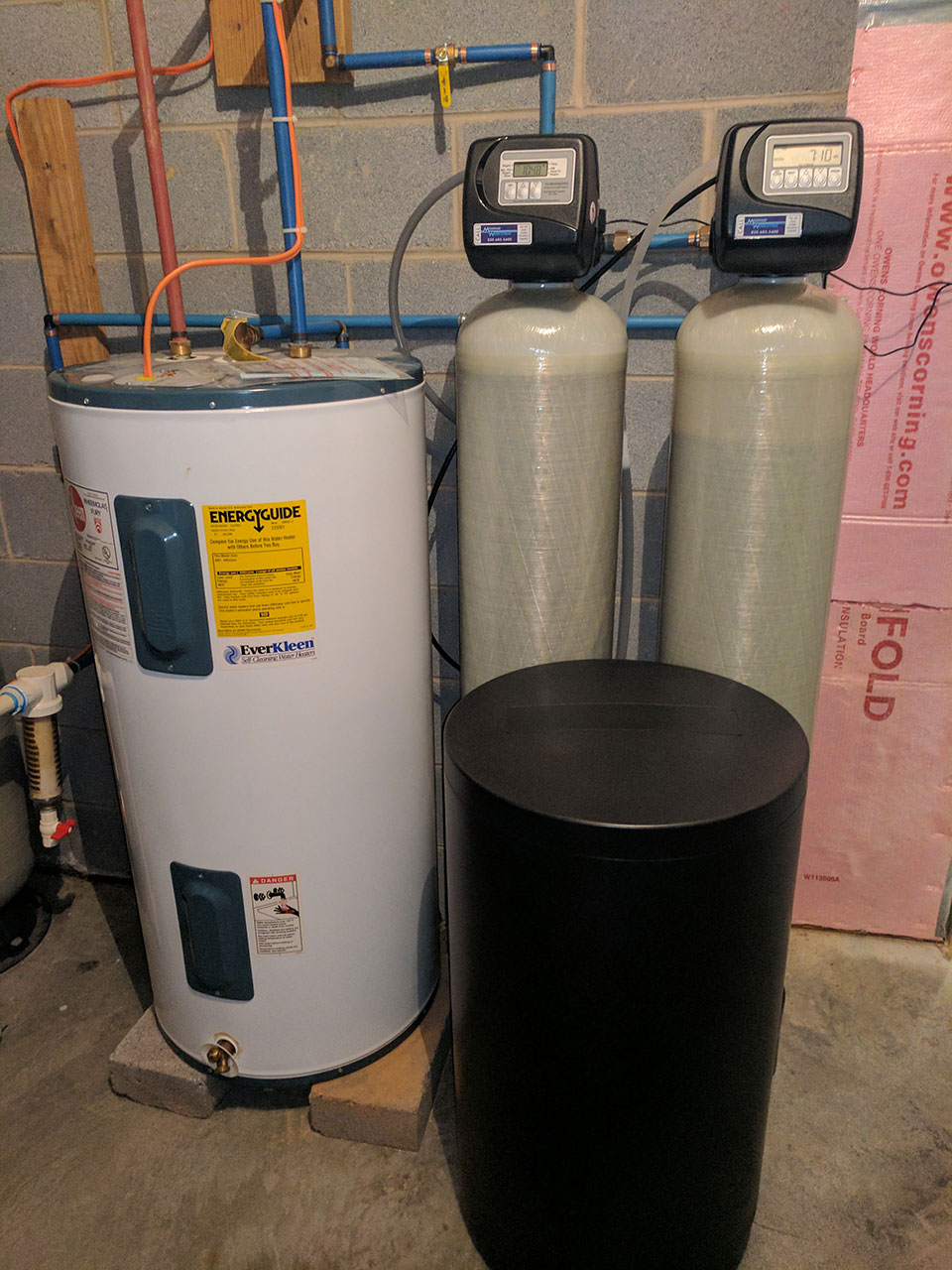 Hard Water Issues Drives Family To Get Water Softener
