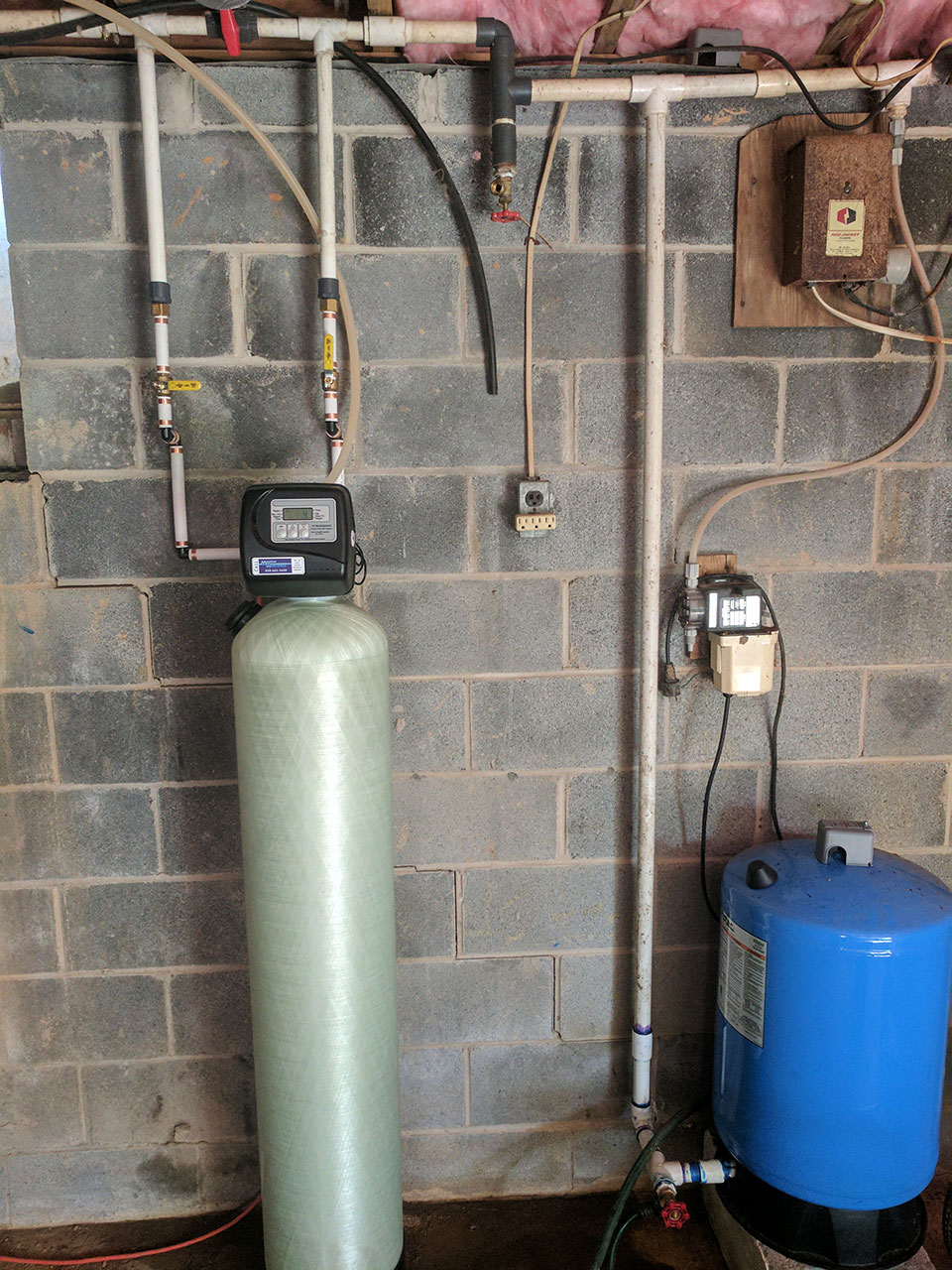 Exiting Customer needed water filter upgrade in Mars hill