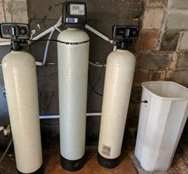 Customer In Candler Gets Iron Filter For Rusty Water