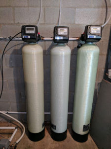 Weaverville Customer Upgrades Three water filters