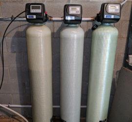 Weaverville Customer Upgrades Three water filters
